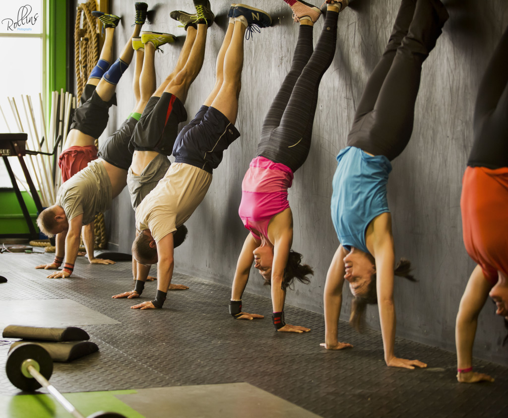 Crossfit Handstand Strength Building