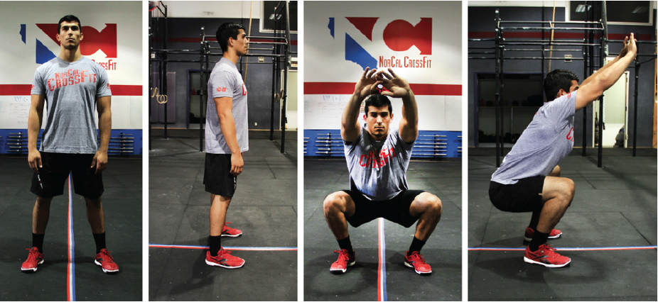 Tabata Squat Sequence