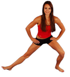 Dynamic Groin Stretch