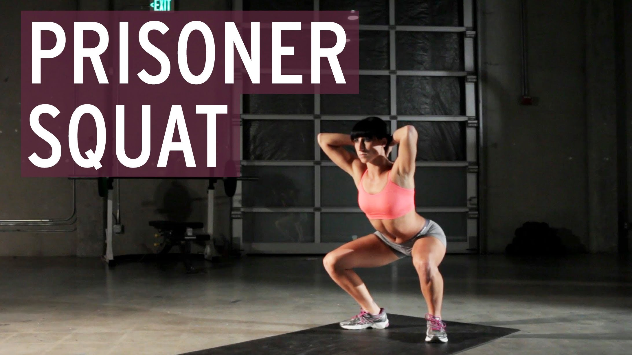 Crossfit Prisoner Squat