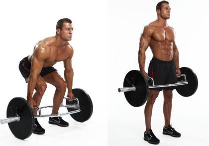 Perfect Trap Bar Deadlift Extension