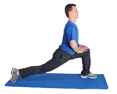 Standing Lunge Psoas Stretch