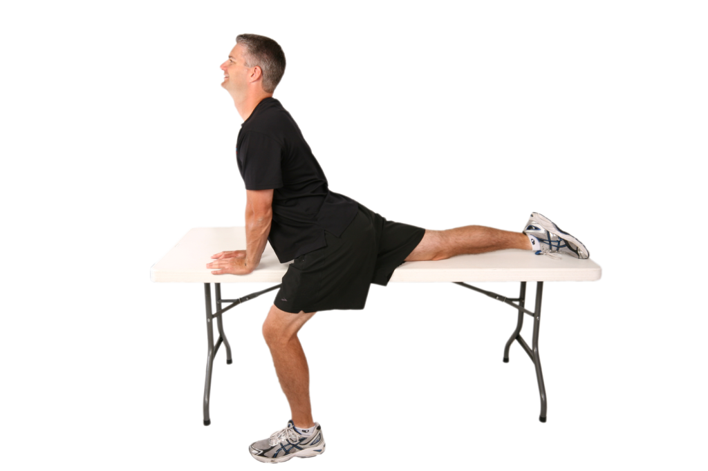 Table Psoas Stretch