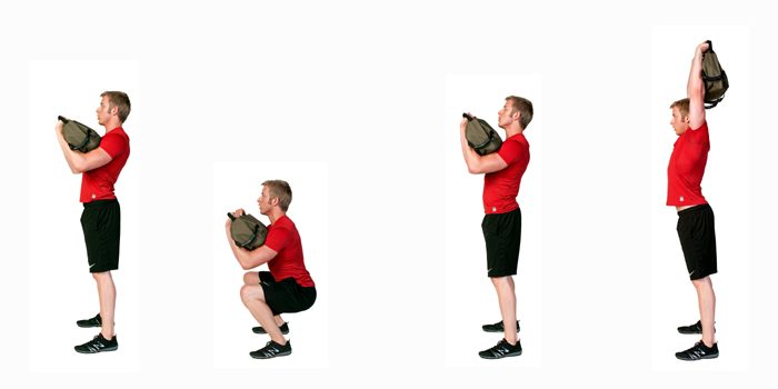 Kettlebell Squat Press Form